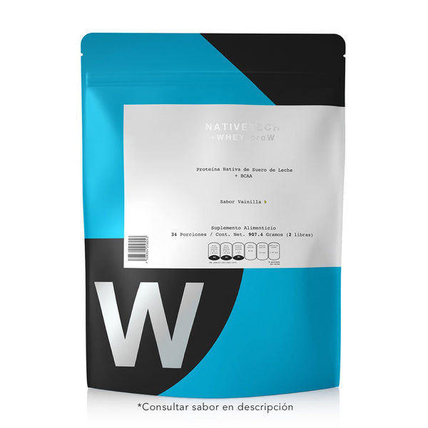 Nativetech Proteina +WHEY-proW Chocolate 907.4gr