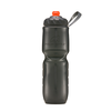 Polar Bottle Zip Stream 24oz Insulated Bottle Charcoal