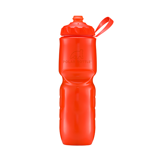 Polar Bottle Zip Stream 24oz Insulated Bottle Tomato