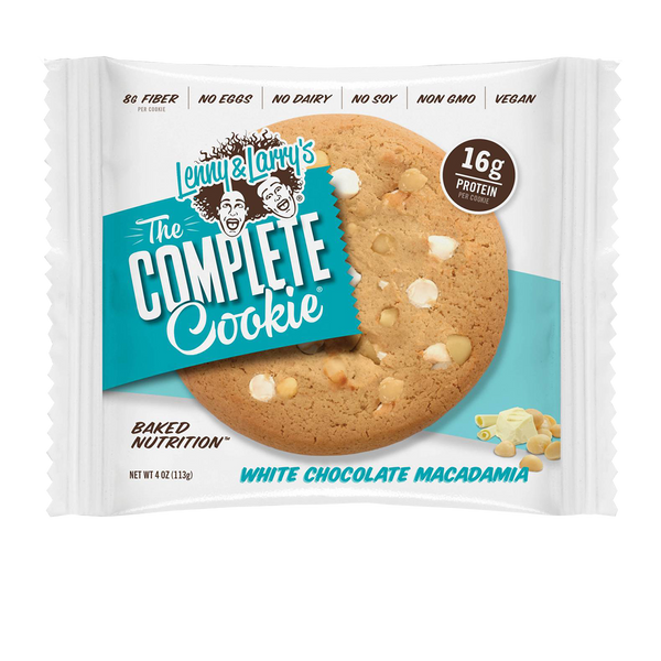 Lenny & Larrys The Complete Cookie White Chocolaty Macadamia 113gr c/12 pz