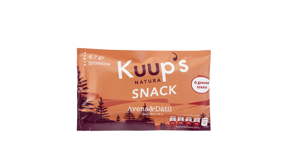 Kuups Barra Snack Avena Datil 50gr