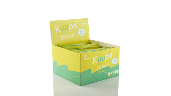 Kuup´s Barra Snack Key Lime Pie 50gr c/10pz
