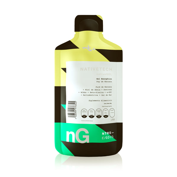 Nativetech Gel Pay de Manzana 54gr