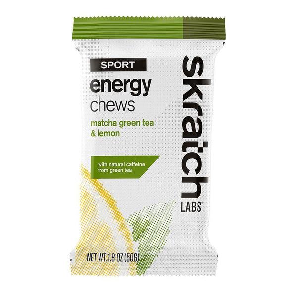 Skratch Labs Energy Chews Matcha Green Tea and Lemons 50gr