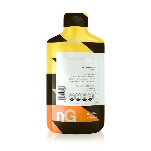 Nativetech Gel Mango 54gr