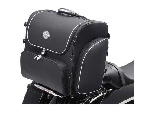 Harley-Davidson® Bar & Shield Zippered Rolling Touring Bag 93300008 - Lind Harley-Davidson
