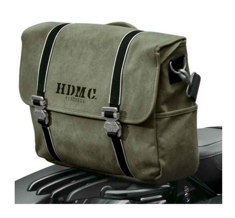 Harley-Davidson® HDMC Messenger Bag, Water-Resistant, Army Green 93300101