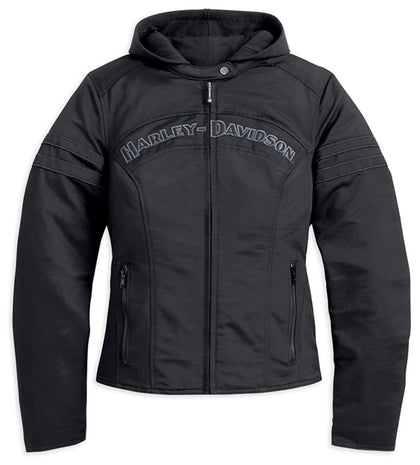 Harley-Davidson® Miss Enthusiast 3-in-1 Outerwear Jacket - Lind Harley-Davidson
