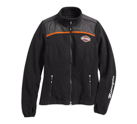Harley-Davidson® Miss Enthusiast Fleece Jacket - Lind Harley-Davidson