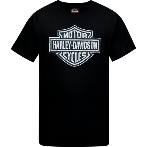 "Newmarket H-D Dealer Tee-Shirt ""Word Shield"" R003461 - Lind Harley-Davidson"