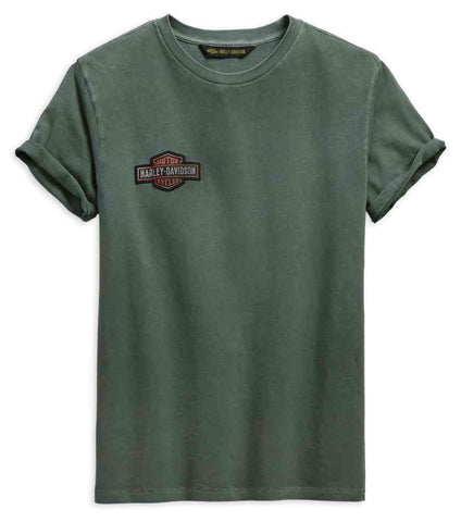 Harley-Davidson® Men's Jersey Applique Slim Fit Short Sleeve Tee 99272-19VM - Lind Harley-Davidson