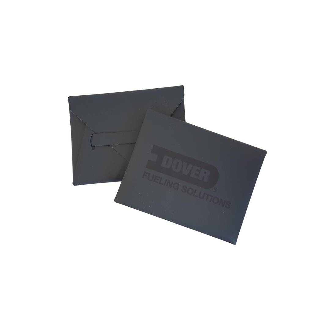Dover Fueling Solutions Leather Business Card Holder