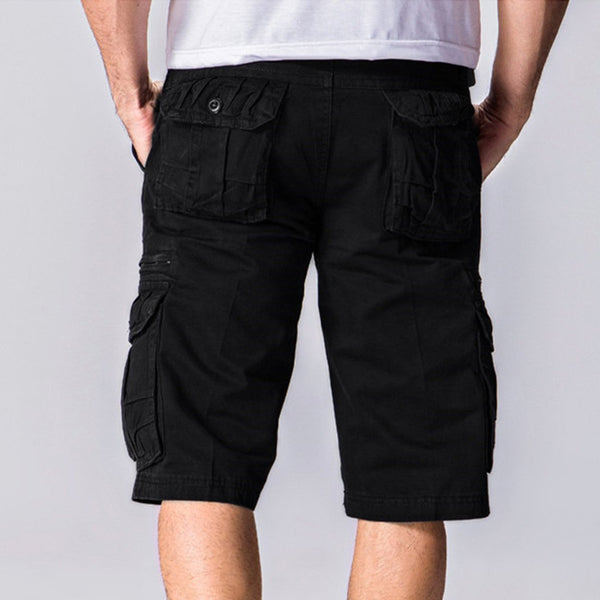 Men's Loose Multi-Pocket Shorts