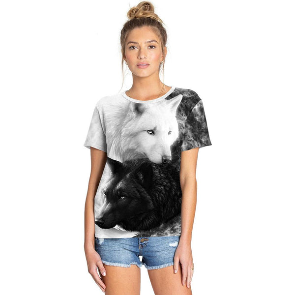 3D Dog Printed Funny Men T-shirt Fashion Casual Novelty Short Sleeve Tees Top