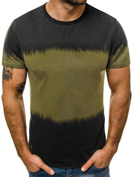 Printed Men's Slim T-shirt