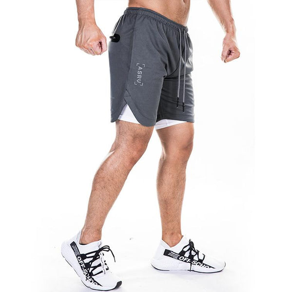 Men's Large Size Quick Dry Sports Fitness Shorts