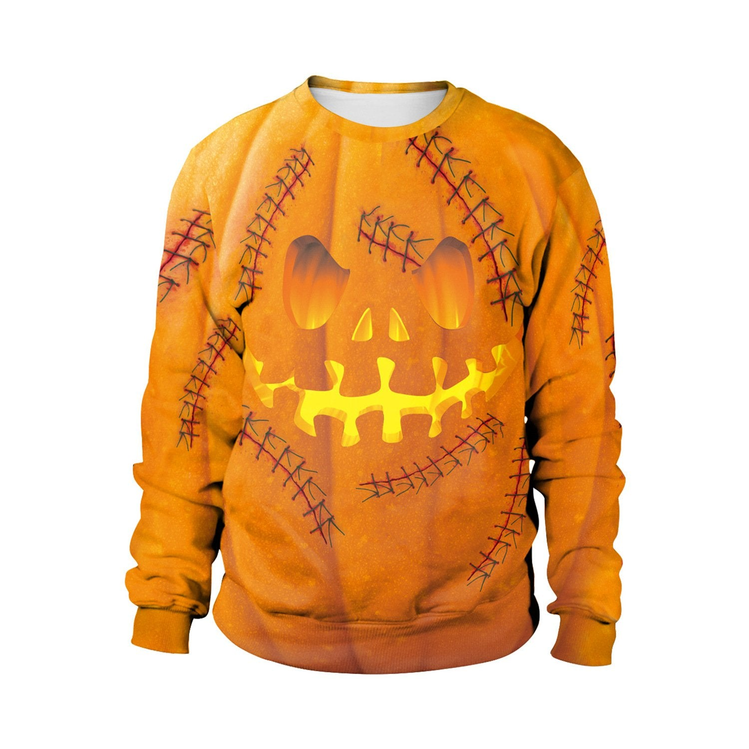 3D Digital Print Halloween Pumpkin Couple Sweatshirt  Halloween Costumes