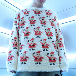 Christmas Cardigan Sweater Loose Sweater Jacket Ugly Christmas Sweater