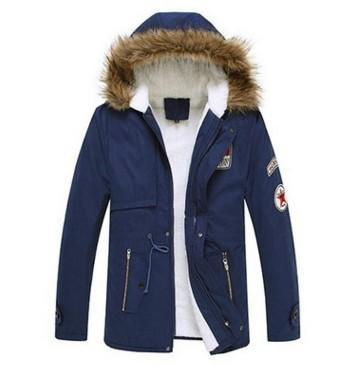 Plus Size  Hooded Zip Up Padded Coat