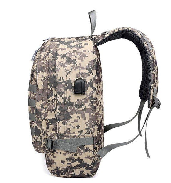 PUBG Backpack Winner Chicken Dinner Camouflage Camo Rucksack Game Pack