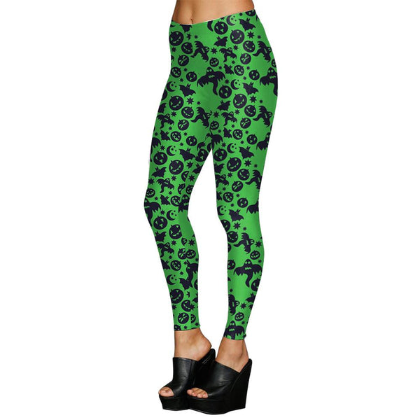 Halloween Digital Print Party Leggings Halloween Costumes