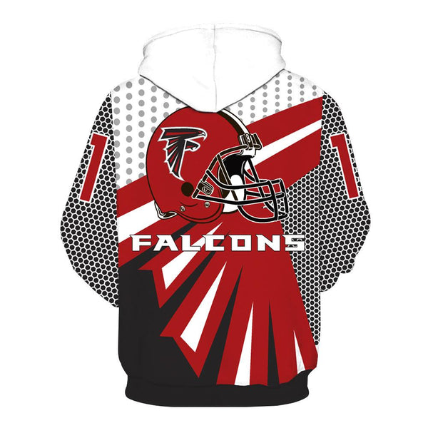 [SUPER BOWL] Atlanta Falcons Football Team Print Hoodie