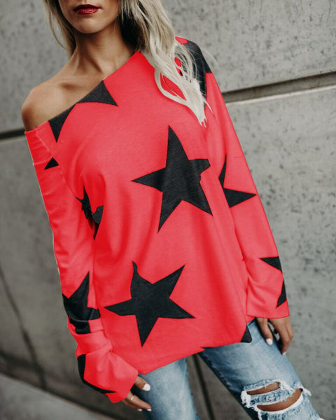 Stars Cotton Casual Shirt