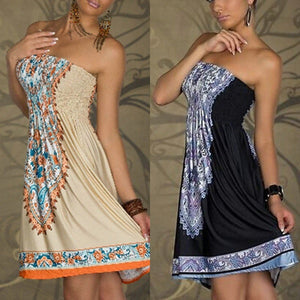 Casual Floral  Beach Summer Boho Sundress