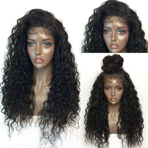 Long Curly Lace Frontal Synthetic Wig