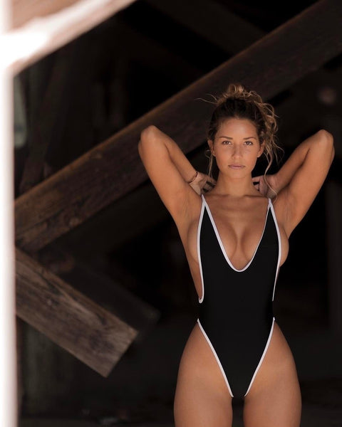 Sexy Womens One Piece Beach Swimsuit
