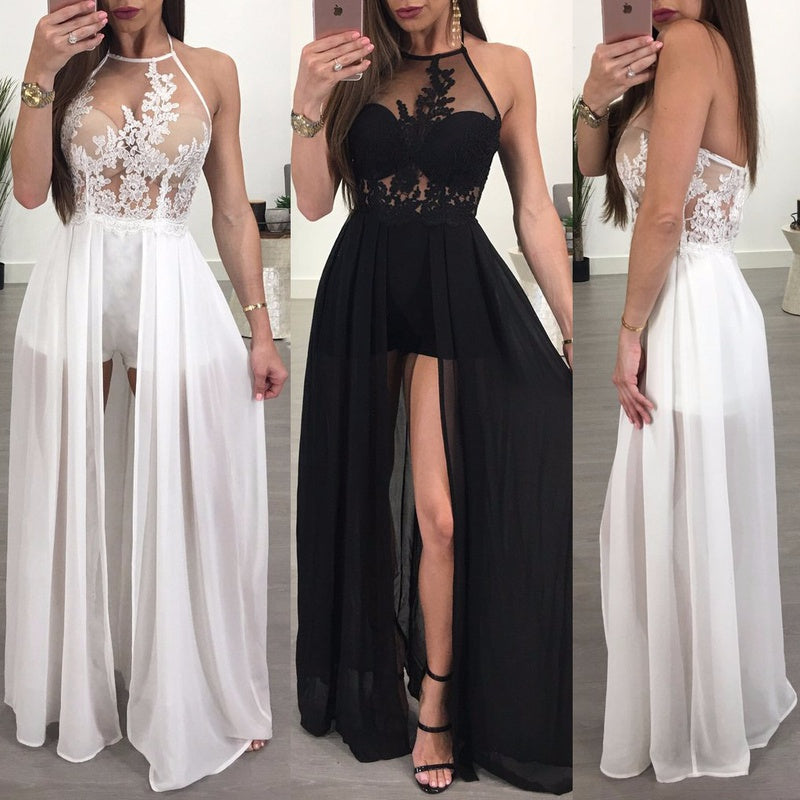 Sexy Women  Summer Long Club Evening Party Dress