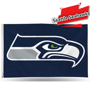 NFL Seattle Seahawks 3 X 5 Flag