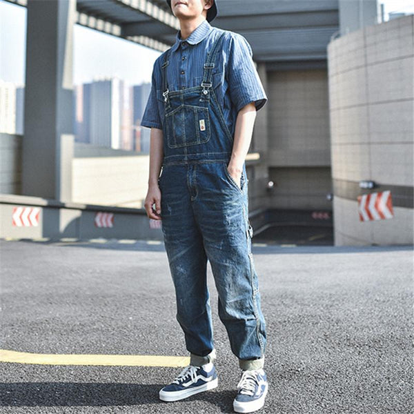 Men's Retro Retro Tooling One Piece Jumpsuit overalls