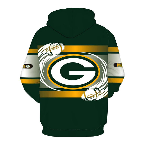 [SUPER BOWL] Green Bay Packers Football Team Print Hoodie
