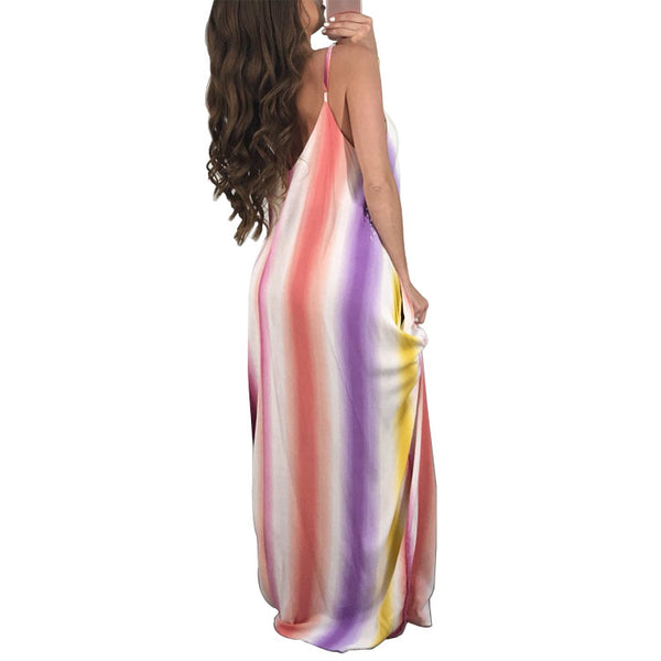 Sexy Boho Long Women Dress