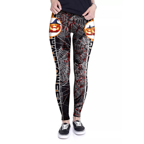 Halloween 3D Digital Printed Leggings Halloween Costumes