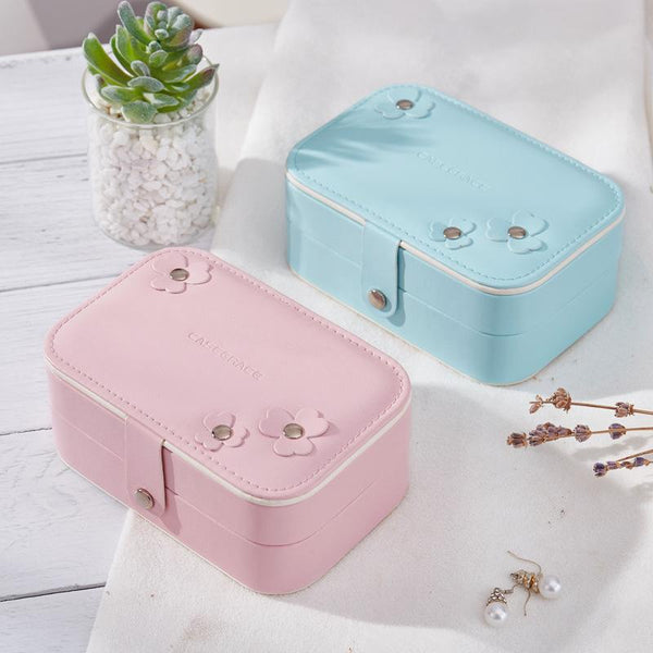 PU Leather Jewelry Storage Box Creative Jewelry Box
