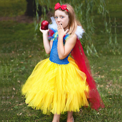 Girls Snow White Dresses Kids Dress Children's Dress