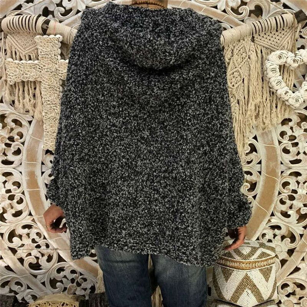 Fashion Bat Sleeve Hooded Sweaters