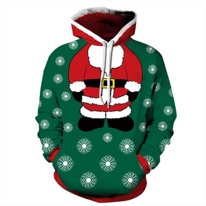 Hot Sale Loose Christmas Hoodie