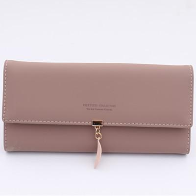 Womens RFID Blocking Wallet Large Capacity  PU Leather Multi Card Holder Organizer Clutch Purses with Zipper Pocket