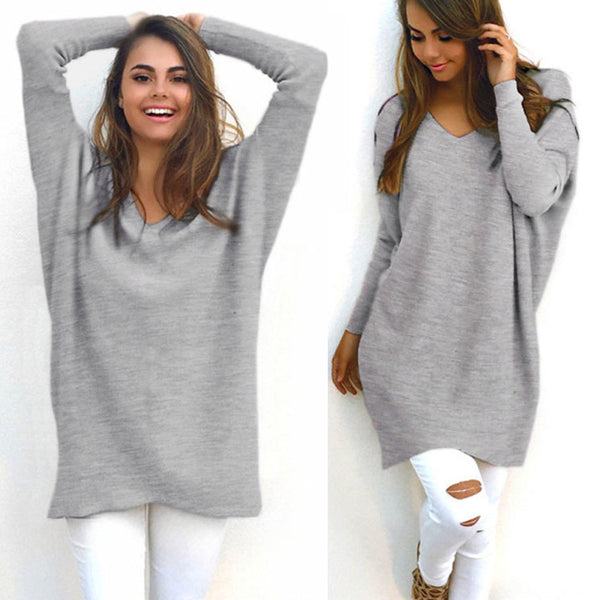 Casual Loose Sweater Bottoming Shirt
