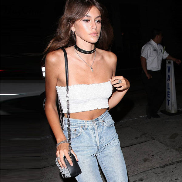 Sexy Off Shoulder  sleeveless Tube Top
