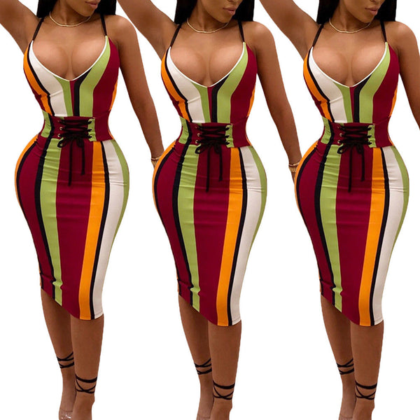 Lady Bandage Bodycon Evening Party Cocktail Dress