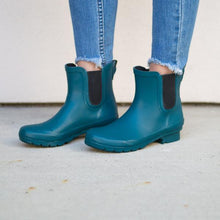 Load image into Gallery viewer, Chelsea Matte Teal Women's Rain Boot