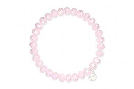 Clarksville Bracelet  Rose Water 8 mm