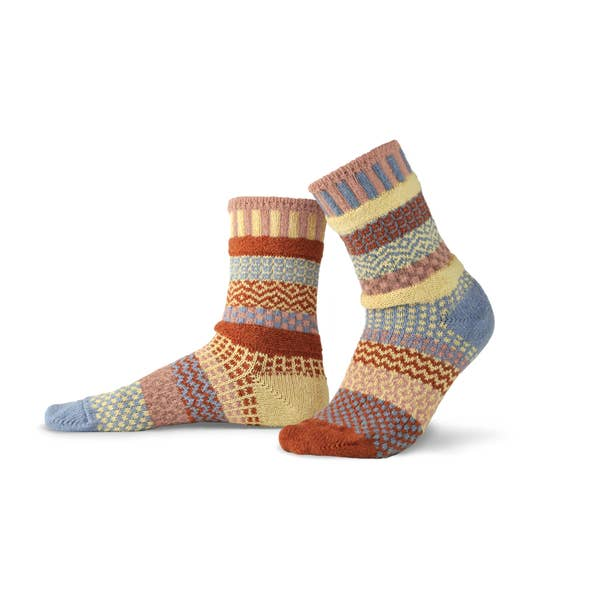 Adult Crew Sock Sandstone