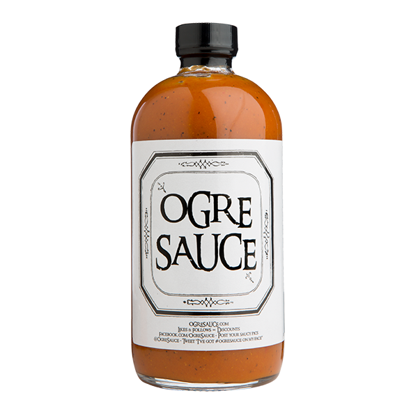 Ogre Sauce- All Natural Craft BBQ Sauce- 16 oz