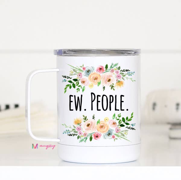 Ew. People Travel Cup With Handle