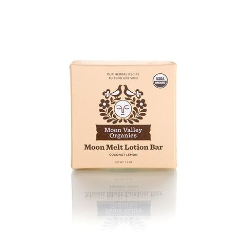 Moon Melt Lotion Bar Coconut Lemon